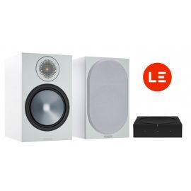 Sonos Amp + Monitor Audio Bronze 100 - Černá/Bílá