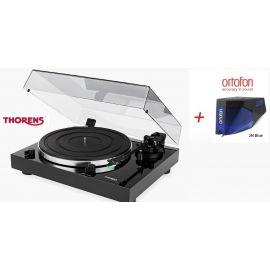 Thorens TD 202 (Ortofon 2M BLUE) - Černá piano