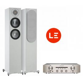 Marantz PM6007 + Monitor Audio Bronze 200 - Stříbrná/Bílá