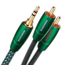 AudioQuest Evergreen 2x CINCH ↔ Jack 3,5mm 2,0m