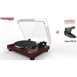 Thorens TD 202 (Ortofon 2M RED) - Ořech piano