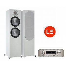 Marantz PM7000N + Monitor Audio Bronze 500 - Stříbrná/Bílá