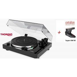 Thorens TD 202 (Ortofon Super OM 5E) - Černá piano