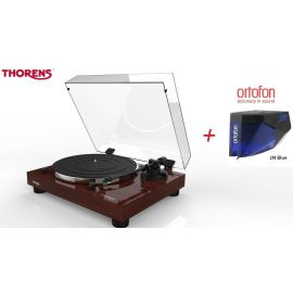 Thorens TD 202 (Ortofon 2M BLUE) - Ořech piano