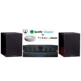 Cambridge Topaz AM5 + Topaz CD5 + Cambridge SX-50 + Audio Pro Link 1