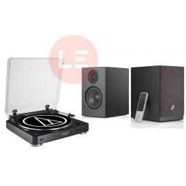 Audio-Technica AT-LP60-BT + Audio Pro A26 - černá