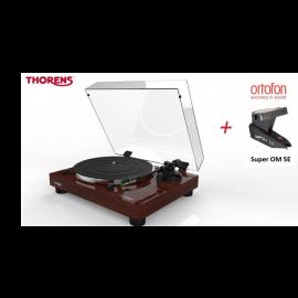 Thorens TD 202 (Ortofon Super OM 5E) - Ořech piano