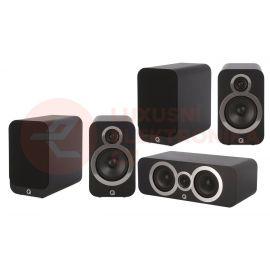 Q Acoustics 3020i set 5.0 - Černá