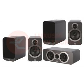 Q Acoustics 3020i set 5.0 - Grafit