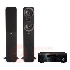 Q Acoustics 3050i + Yamaha R-N803D