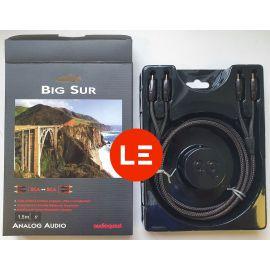 AudioQuest Big Sur  2x CINCH ↔ 2x CINCH 1,5m - demo