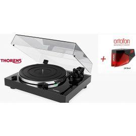 Thorens TD 202 (Ortofon 2M RED) - Černá piano