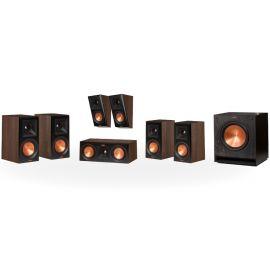 Klipsch RP-600M set 5.1.2 Dolby Atmos® - Ořech