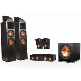 Klipsch RP-8000F set 5.1.2 Dolby Atmos® - Černá