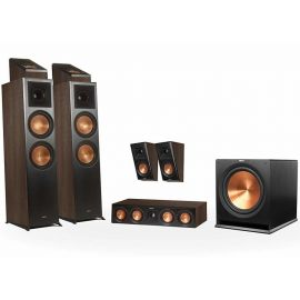 Klipsch RP-8000F set 5.1.2 Dolby Atmos® - Ořech