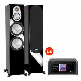 NAD M10 + Monitor Audio Silver 500 - Černá